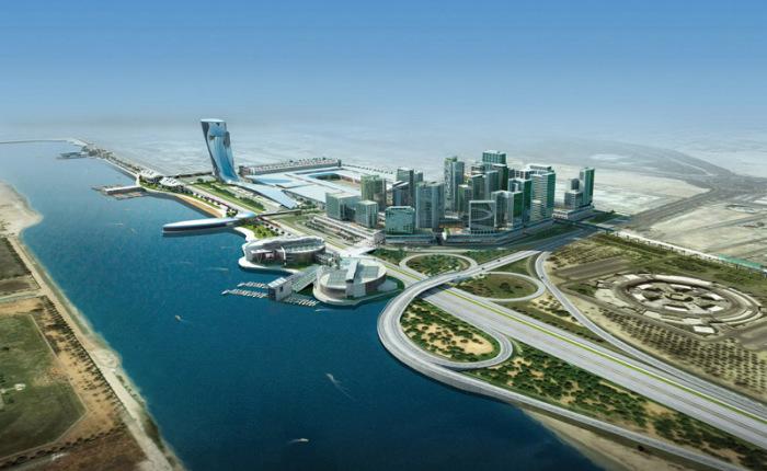 Абу Даби: много солнца и океан.