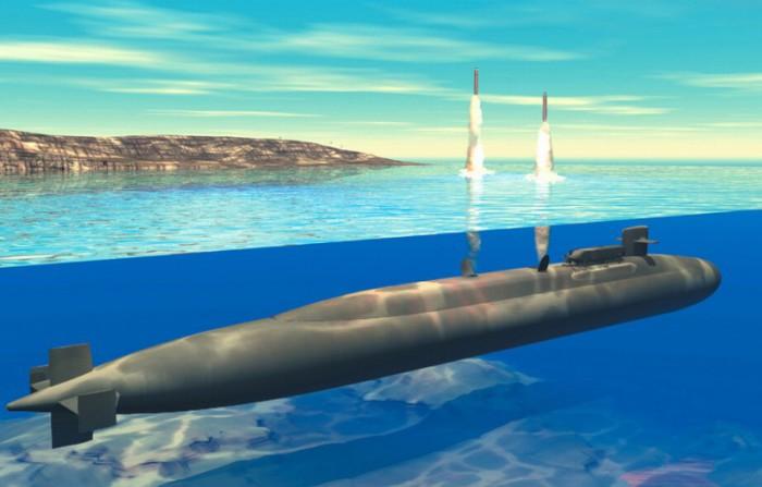 Система баллистических ракет Trident-2 D5.