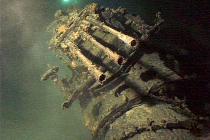Самая большая подводная лодка времён Второй мировой.