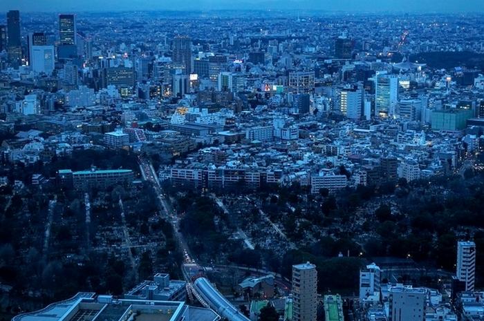 Земля в японских городах - настоящая роскошь.