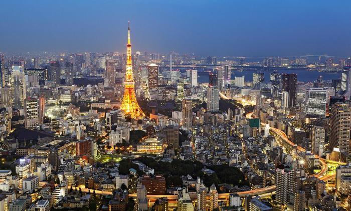 Токио - один из самых технологически продвинутых городов.