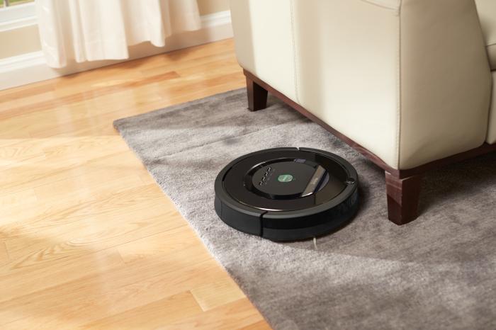 Робот-пылесос Roomba.