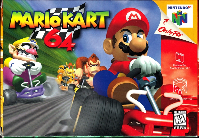 Mario Kart 64.