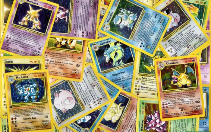 Карточки с покемонами