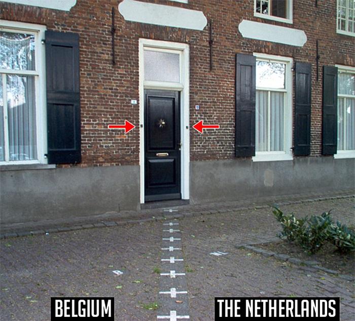 Одновременно позвонить в дверь в Бельгии и Нидерландах.