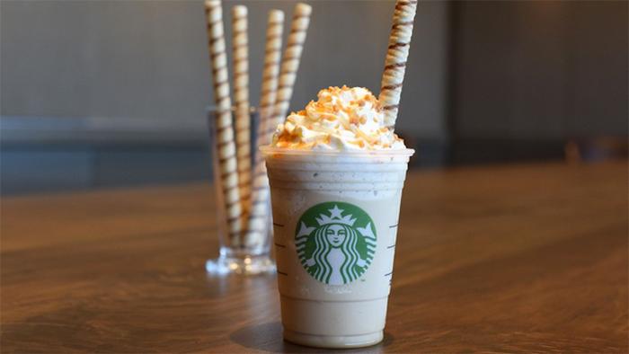 Упаковка от Starbucks.