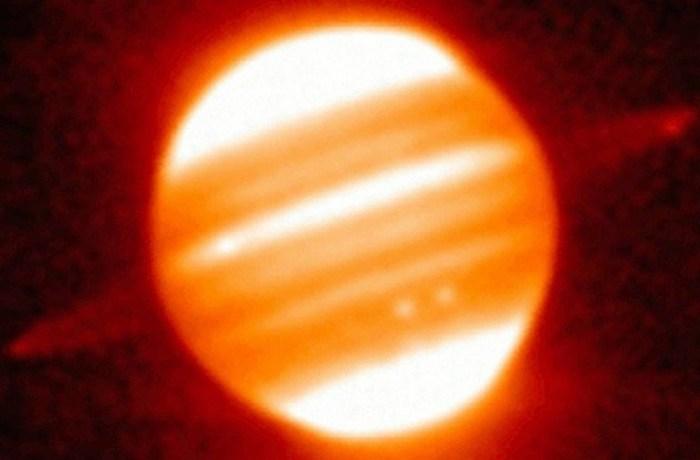 Кольца Юпитера.