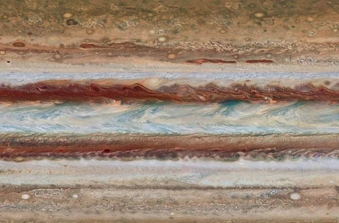 Атмосфера Юпитера - химический склад.