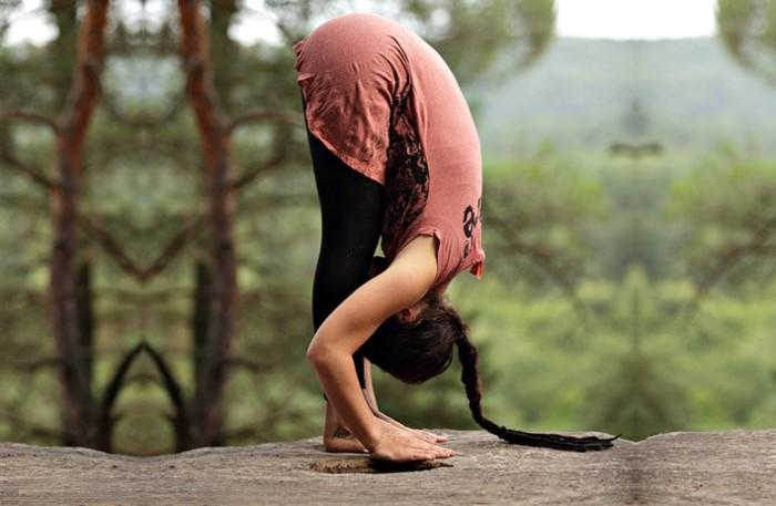 Йога - это просто и здОрово.