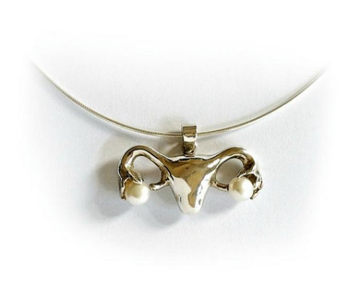 Beth Croce - ожерелье в виде матки