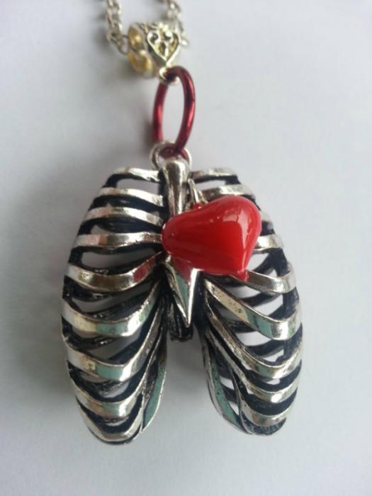 Сердце и ребра от 2KoolJewels