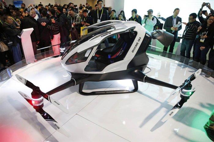 Первое в мире летающее такси.