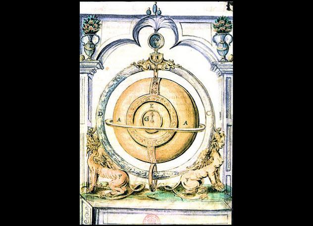 Вечный двигатель Корнелиуса Дреббеля