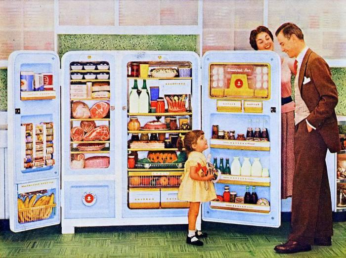 Роллс-Ройс среди холодильников.