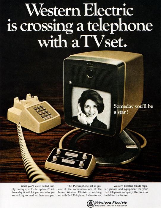 Видеотелефон.