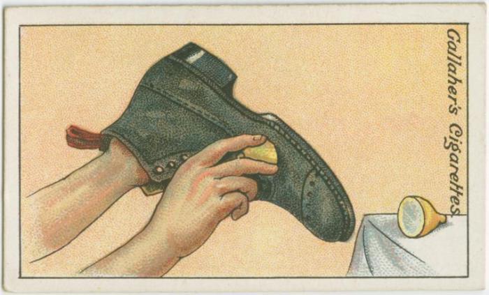 Как почистить обувь