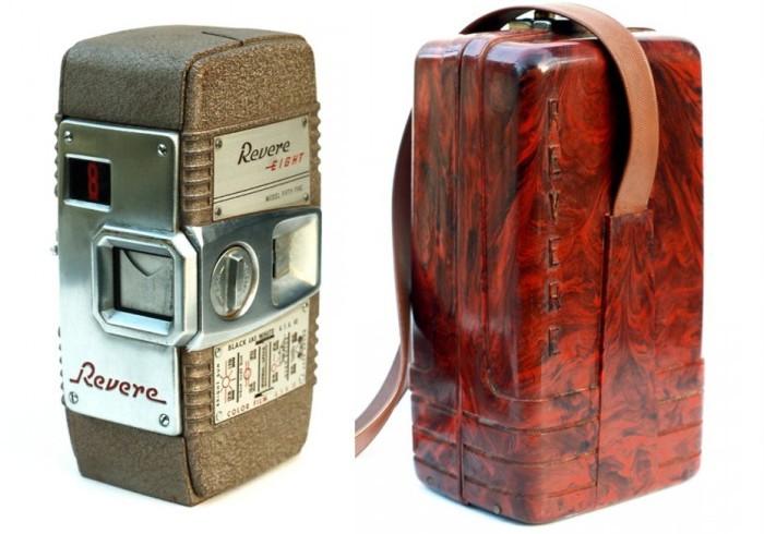 Уникальная коллекция винтажных фотокамер.