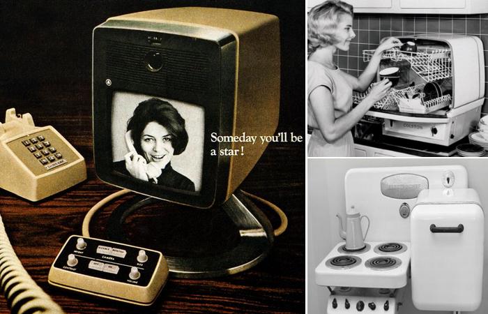 Революционные кухонные гаджеты середины прошлого века.