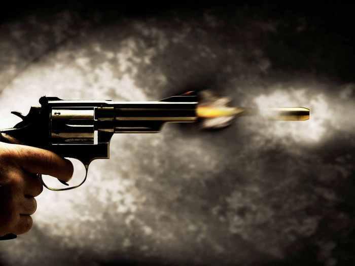 Выстрелы и смерть.