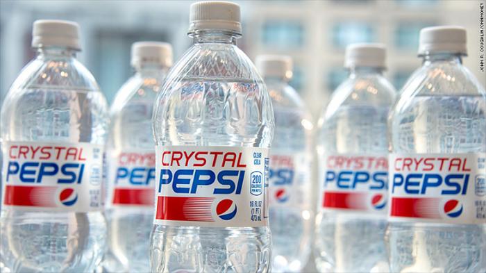 Crystal Pepsi.