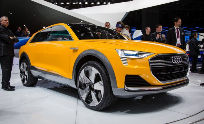 Audi h-tron quattro - концепт 2016 года.