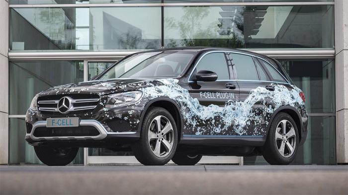 Водородный Mercedes уже на дорогах.
