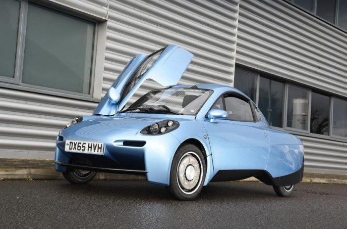 Ультралегкий водородный автомобиль Riversimple Rasa.