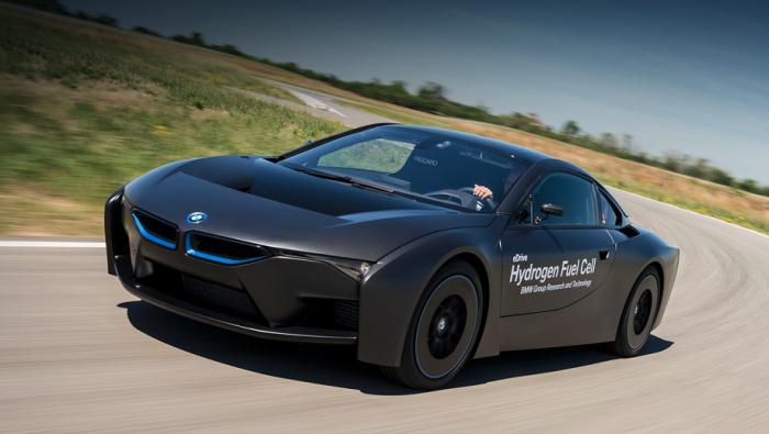 BMW eDrive: электрокар, в котором установят водородные элементы.