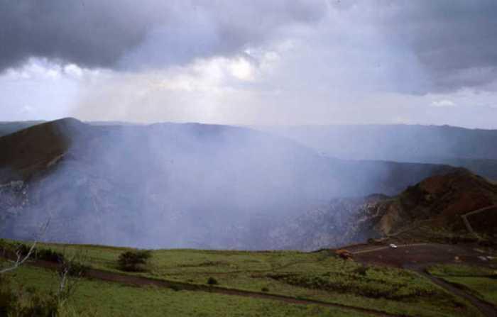 Вулкан Масая.