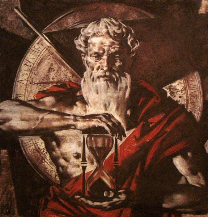 Бог времени Хронос.