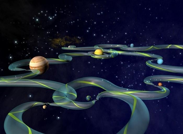 Межпланетная транспортная сеть
