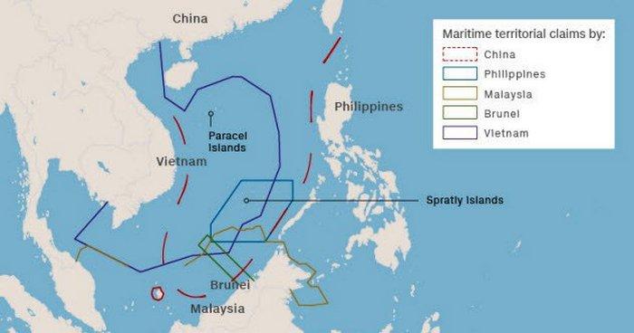 Южно-Китайское море или Третья мировая война