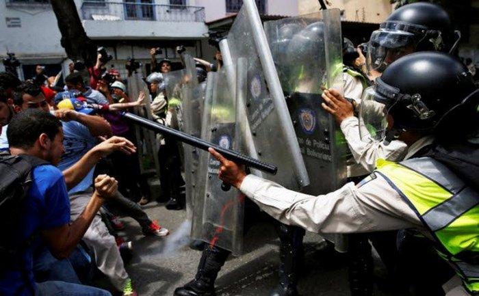 Гражданская война в Венесуэле