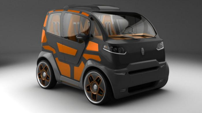 Новый российский автомобиль.