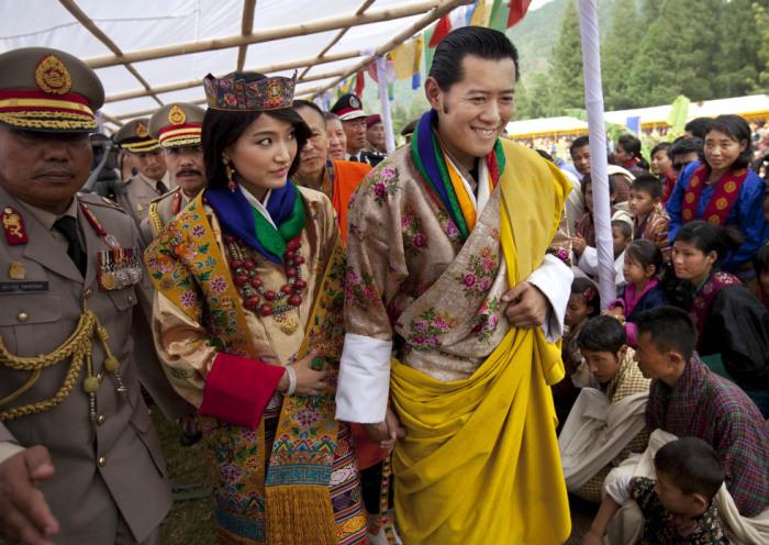 Королевская свадьба в Бутане.