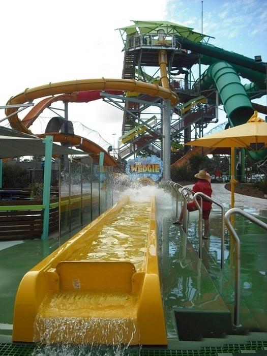 The Wedgie в австралийском аквапарке.