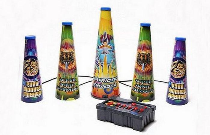 Светодиодный фейерверк LED Fireworks Grand Finale.