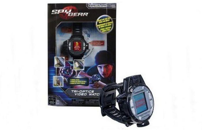 TRI-OPTICS видео-часы с 3 камерами.