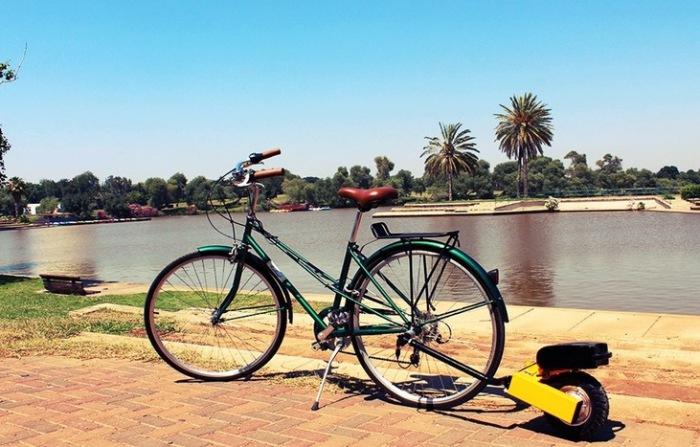 Велосипед с электродвигателем Wheezy.