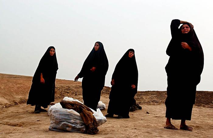 Иракские женщины - жертвы секс-джихада.