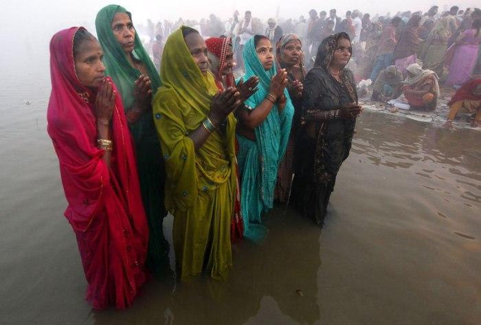 Индийские женщины.