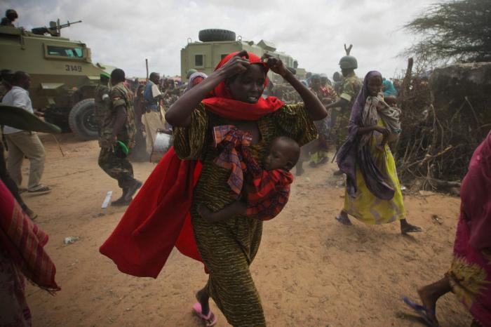 Женщинам в Сомали приходится несладко.