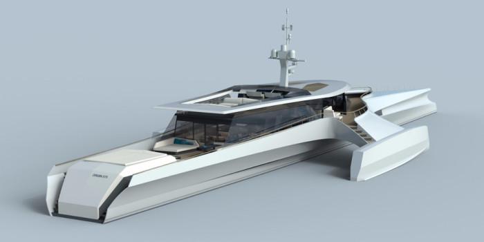 Роскошный тримаран Origin 575.