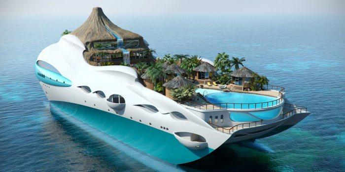 Тропический рай.
