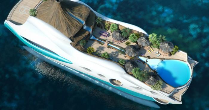 Самые невероятные в мире яхты.