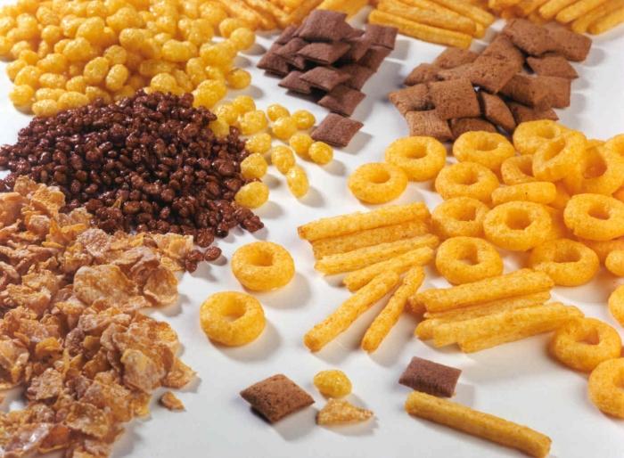 Сухие зерновые завтраки.