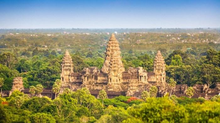 Ангкор-Ват и его фрески.