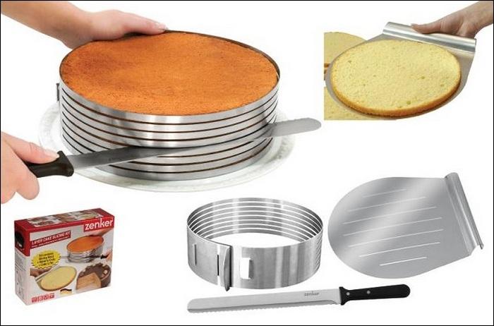 Современная кухня: приспособление для коржей Zenker.