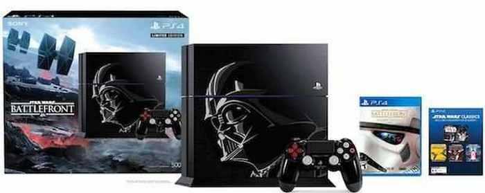 Playstation, которая носит имя Дарта Вейдера.