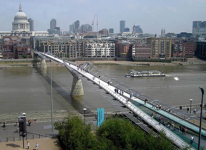 Мост «Миллениум» в Лондоне